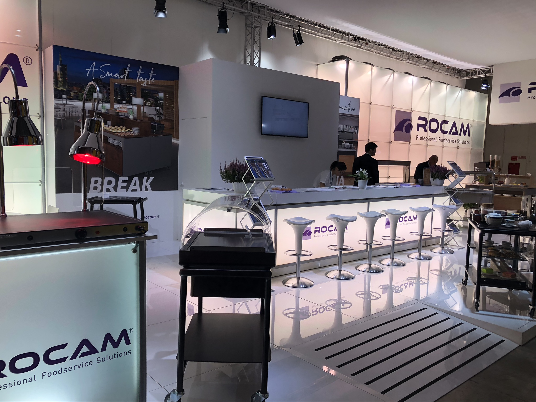 ROCAM Professional foodservice trolleys
