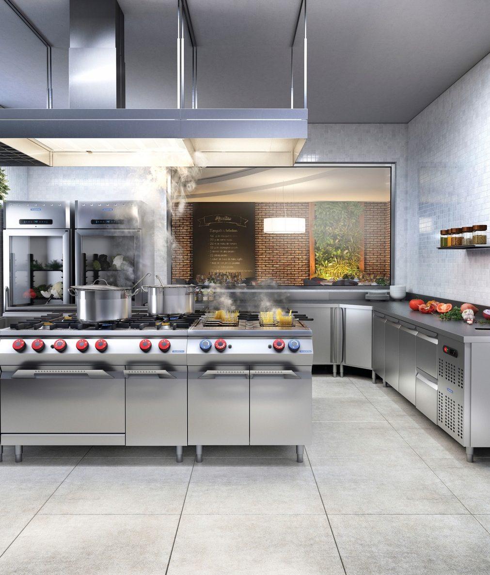 Tramontina: cozinhas profissionais