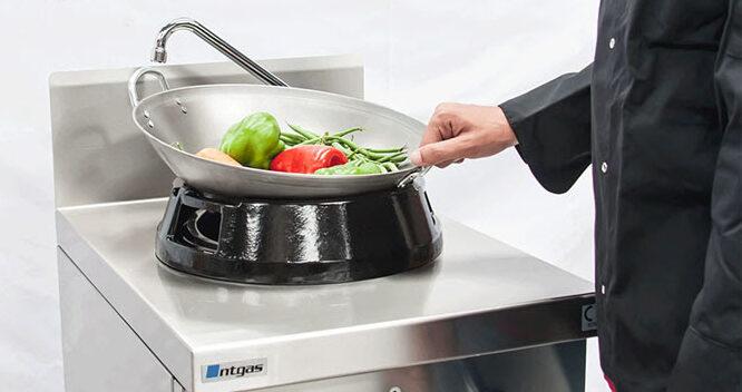 Fogões especiais para cozinhas orientais NTGAS