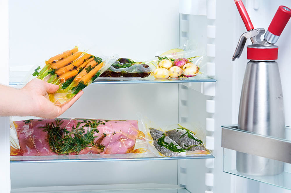 Preservar, armazenar e regenerar alimentos cozidos